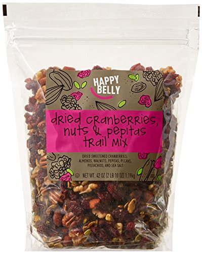 Amazon Brand - Happy Belly Dried Cranberries, Nuts & Pepitas Trail Mix, 42 ounce by Happy Belly (Image #7)