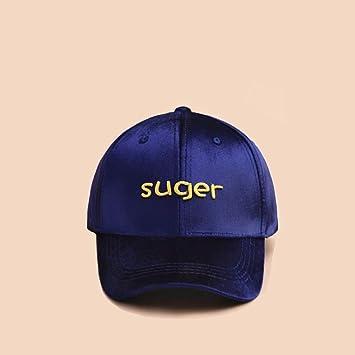 Sombrero Mujer Invierno Coreano Gorra de Béisbol de Terciopelo ...