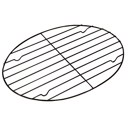 Fox Run 57213 Oval Roasting/Cooling Rack, Iron, Non-Stick, 11.25-Inch (Crock Pot Trivet)