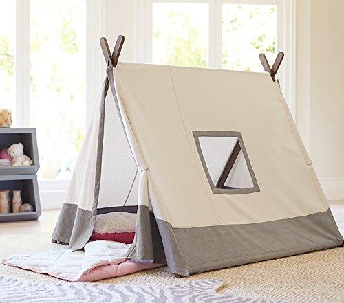 Kids Teepee Tent with 4 PolesPlay TentKids TeepeeA-Frame & Kids Teepee Tent with 4 PolesPlay TentKids TeepeeA-Frame Tent ...