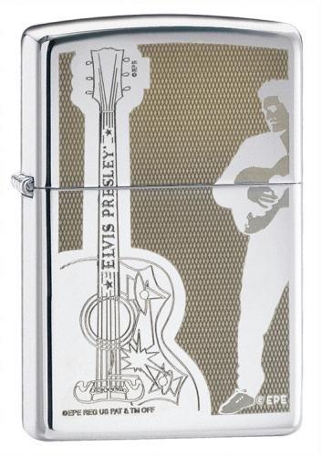 Zippo Elvis Guitar - 1