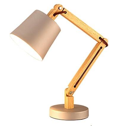 focchio de de madera botón interruptor mesa lámpara plegable ...