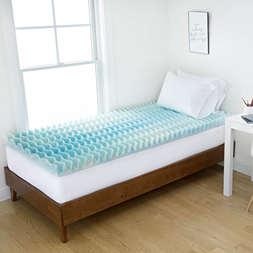 Mattress Topper for College | Authentic Comfort Dorm 1.5-Inc