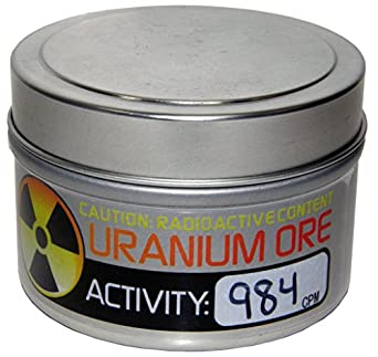 Amazon Uranium Ore Industrial Scientific
