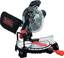 Black+Decker M2500BD5 Compound Miter Saw - Best for House Projects