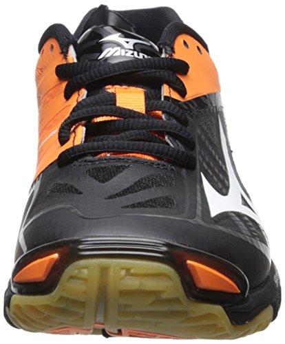 Black Orange Women's Lightning Z2 Mizuno Wave Shoe Volleyball nY4Aq0vw