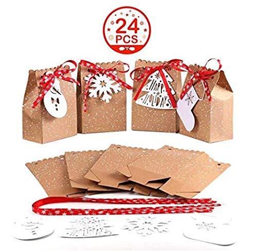 OurWarm Aparty4u Cajas, Juego de 24 Bolsas Decorativas para ...