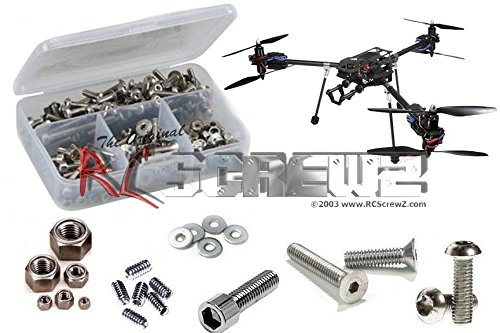 RCScrewZ Aerial Freaks Spartacus Y6 FPV/Multicoptor Stainless Steel Screw Kit (Steel Kit Stainless Freak)