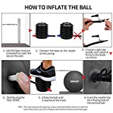 Inpany Exercise Ball - Extra Thick Yoga Ball