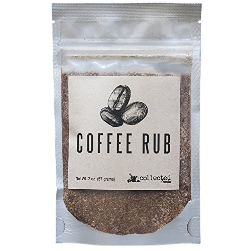 Rub Coffee - Collected Foods Coffee Rub Blend Seasoning - Handcrafted by 2 oz (1 Package)