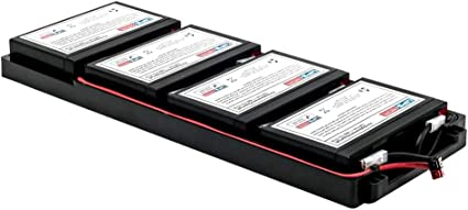 UPSBatteryCenter Compatible Replacement Battery Pack for APC Smart UPS 750VA USB /& Serial RM 1U 120V SUA750RM1U