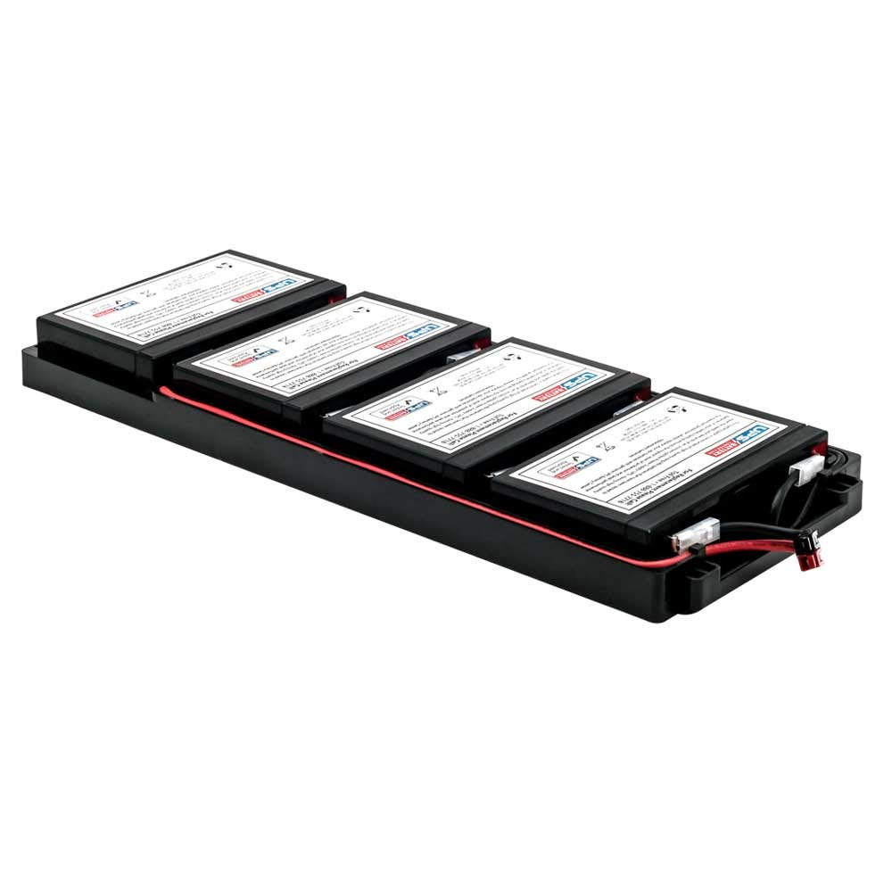 UPSBatteryCenter SUA1000RM1U APC Smart UPS 1000 USB & Serial RM 1U 120V SUA1000RM1U Compatible Battery Pack Replacement