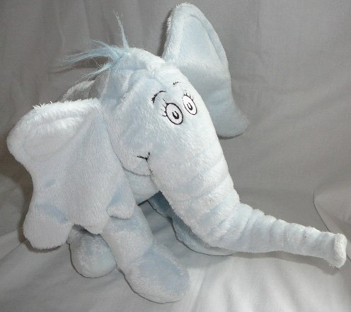 Dr. Seuss Horton Plush Elephant Kohl's for $<!--$24.00-->