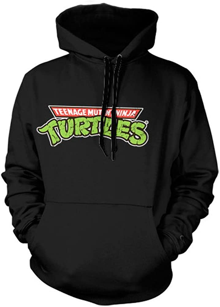 Officially Licensed Merchandise TMNT - Classic Logo Hoodie