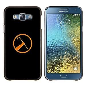 Stuss Case / Funda Carcasa protectora - Half Life Crowbar - Samsung Galaxy E7 E700