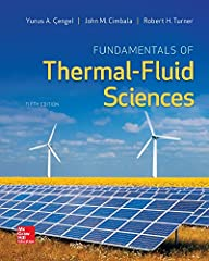 The objective of this text is to cover the basic principles of thermodynamics, fluid mechanics, and heat transfer. Diverse real-world engineering examples are presented to give students a feel for how thermal-fluid sciences are applied...