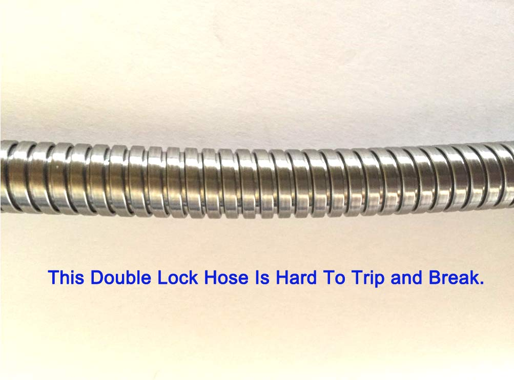 Kitchen Faucet Pull Out Pull Down Spray Replacement Hose Stainless Steel by Farzelli Faucets (Image #6)