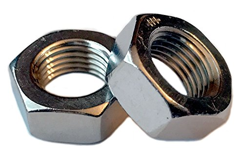 Type 18-8 Stainless Steel Thin/Jam Nuts - Marine Bolt Supply (1/2-20 (pack of 25))