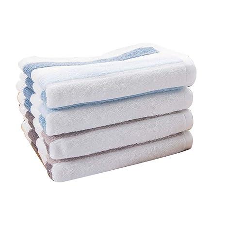 Overflowing Toalla de algodón Toalla de algodón Lleno de Hombres y Mujeres Frente a Toallas Grandes