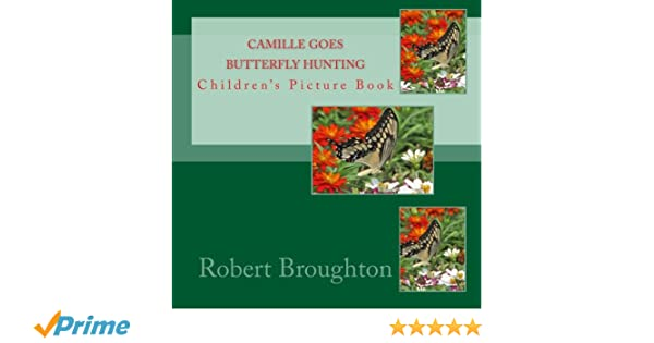 Camille Goes Butterfly Hunting: Childrens Picture Book