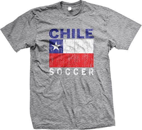 Chile Soccer, Chilean Flag, Futbol Mens T-shirt, NOFO Clothing ...