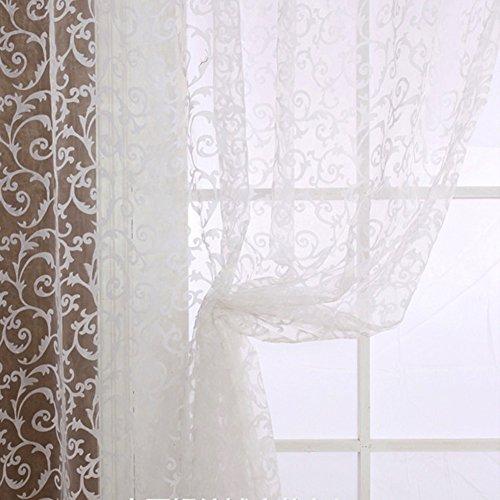 Edal Elegant Floral Curtain Valances