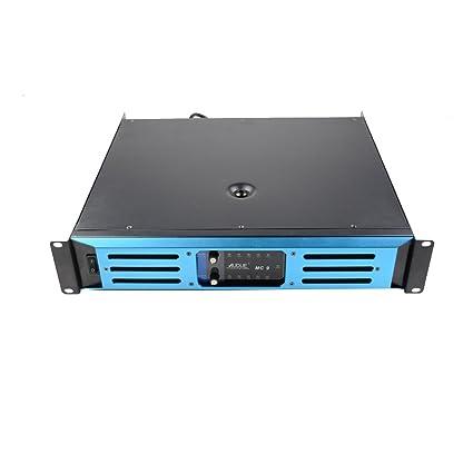 AUDUE profesionales 2 canales Etapa de audio, KTV altavoz, amplificador de energía MC9