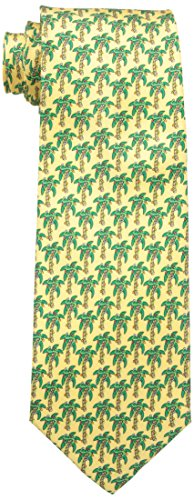 Tommy Bahama Men's Christmas Palm, Yellow, One Size