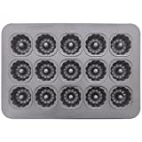 Chicago Metallic 43055 Mini-Fluted Tube Cake Pan (1 Each)