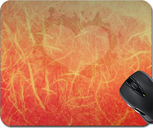 MSD Mousepad Mouse Pads/Mat design 30138445 Heart background on grunge paper Ancient Graffiti Replacement