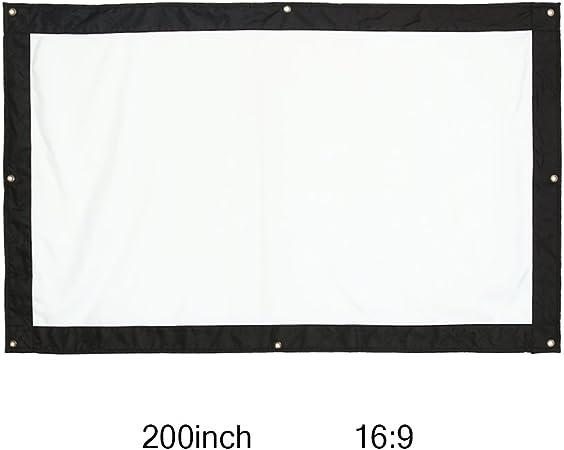 200 Pulgadas Gigante Pantalla de Proyección Plegable Portátil de ...