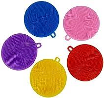 Yunjiadodo - Esponja de silicona para lavar platos, calidad ...