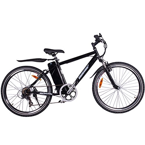 X-Treme Scooters Apline Trails Electric Powered Mountain Bike (Black)