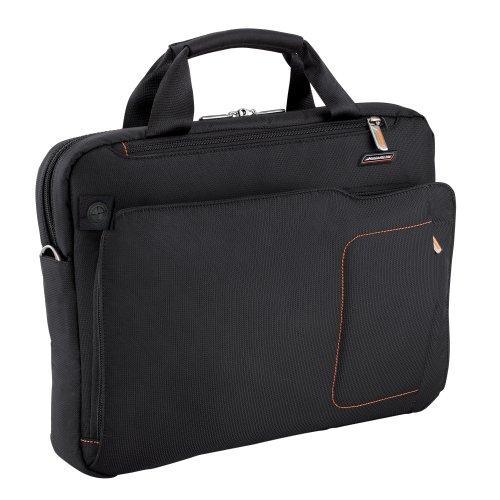 Briggs and Riley  Verb Groove Slim Briefcase,Black,12×15.5×3.5 Inch, Bags Central