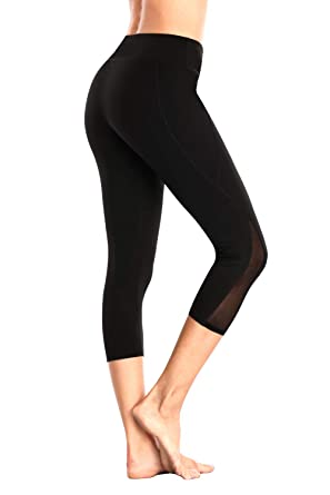 11db6fa80880e V FOR CITY High Waist Yoga Running Pants Tummy Control Workout Sports  Leggings Tight Black S