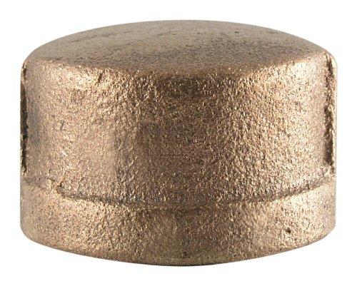 LDR Industries 323 CA-14 Low Lead Brass Cap, - Pipe Vent Lead Cap