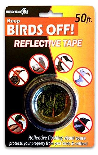 Bird-X Reflective Bird Scare Tape, 2