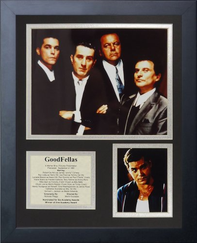 Legends Never Die Goodfellas Framed Photo Collage, 11 by 14-Inch by Legends Never Die