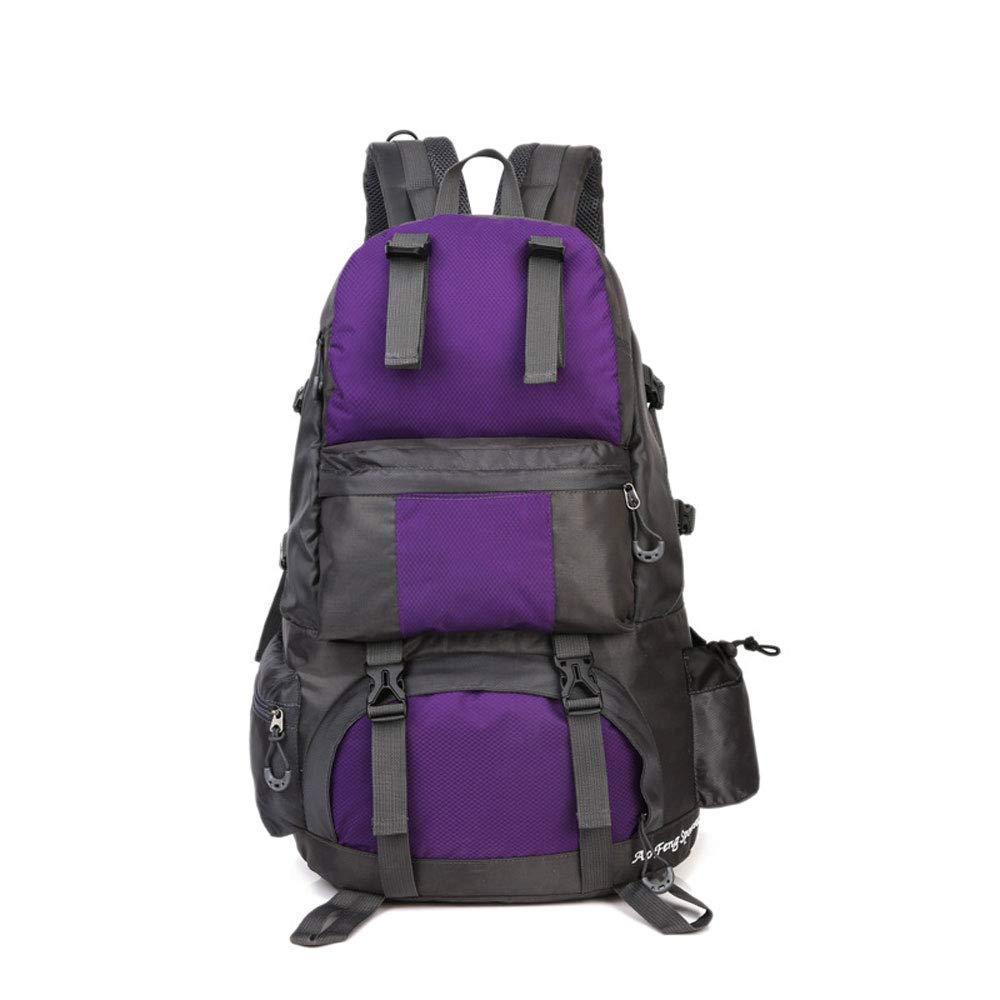 violet  YYD Extra grand Randonnée Voyage Sac à Dos Camping Sac à Dos Escalade Alpinisme Sac à Dos pour Hommes Femmes,vert