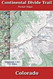 Continental Divide Trail Pocket Maps - Colorado