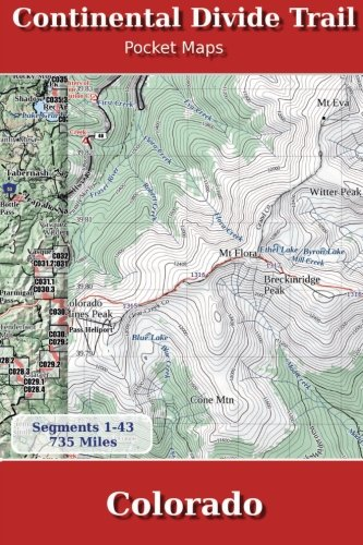 Continental Divide Trail Pocket Maps - Colorado
