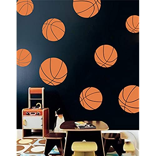 basketball bedroom decorations
