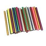 Dreamtop 30X Glitter Adhesive Glue Sticks Craft Hot Glue for Hobby Crafting Woodworking Glue Gun (7x100mm)