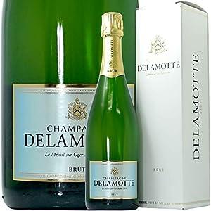 NV ブリュット ドゥラモット ギフト ボックス 正規品 シャンパン 辛口 白 750ml Champagne Delamotte Brut Gift Box