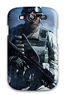 For Galaxy S3 Premium Tpu Case Cover Battlefield Protective Case