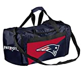 Forever Collectibles Licensed NFL Two Tone Duffle Bags for New England Patriots