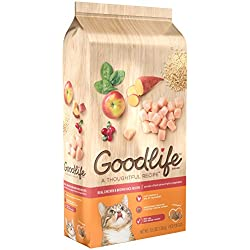 Goodlife Adult Real Chicken And Brown Rice Recipe Dry Cat Food 3.5 Pounds (Discontinued By Manufacturer)