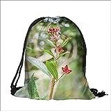 Pocket Drawstring Bag lake malawi in africa with Drawstring Closure Backpack Student Bag 15''W x 18.5''H