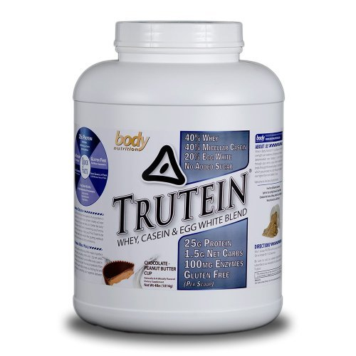 Body Nutrition Trutein Chocolate Peanut Butter 4lbs Matrix Chocolate