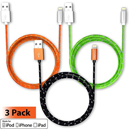 Pawtec Lightning to USB Charge Sync Cable Apple MFi Certi...